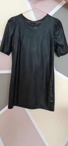 Colosseum Faux Leather Dress black