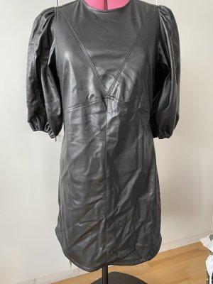 Kunstleder Kleid Gr. 42 (40)