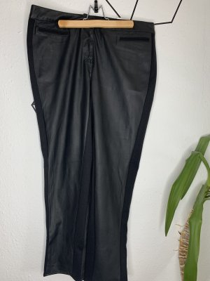 Yessica Leather Trousers black