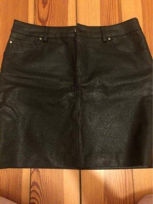 BDG Faux Leather Skirt black