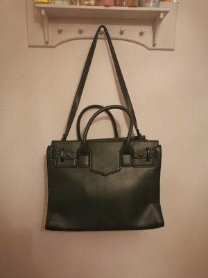 Shopper Tasche in dunkelgrün