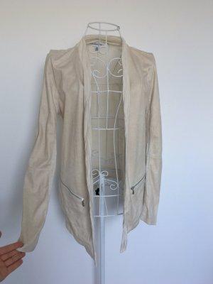 Calvin Klein Shirt Jacket cream-oatmeal imitation leather