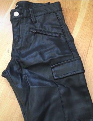 H&M Pantalón de tubo negro