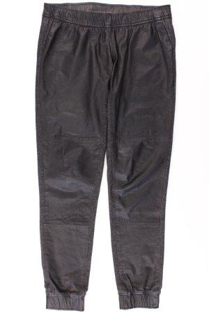 Kunstlederhose Größe 34 schwarz