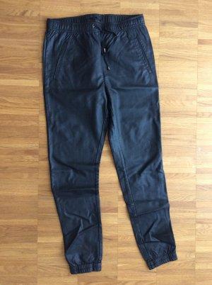 Minimum Leather Trousers black polyurethane