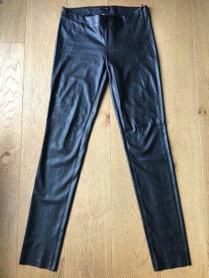 Cinque Faux Leather Trousers black