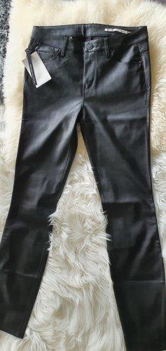 Kunstlederhose von Zara schwarz neu gr.XS