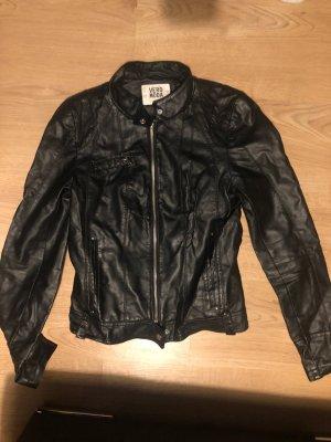 Vero Moda Faux Leather Jacket black