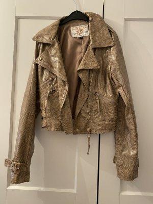 Tkmaxx Faux Leather Jacket multicolored