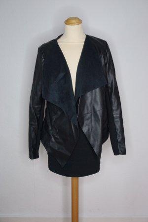 Oasis Leather Jacket multicolored