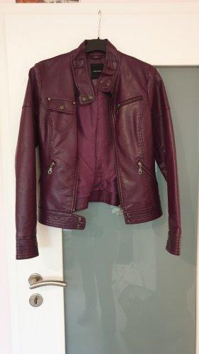 Vero Moda Biker Jacket dark violet