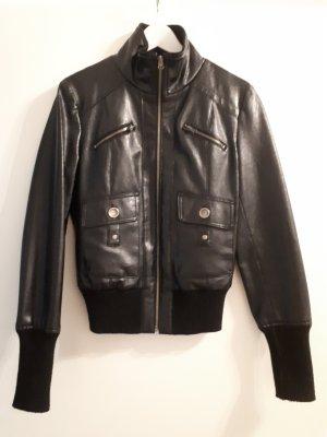 Amisu Faux Leather Jacket black