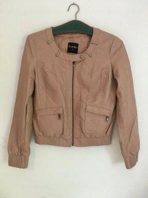 Biker Jacket rose-gold-coloured imitation leather
