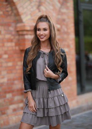 COLORI Leather Jacket black