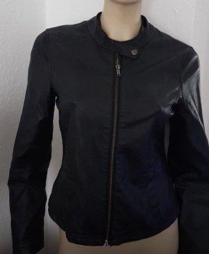 Zalando Faux Leather Jacket black