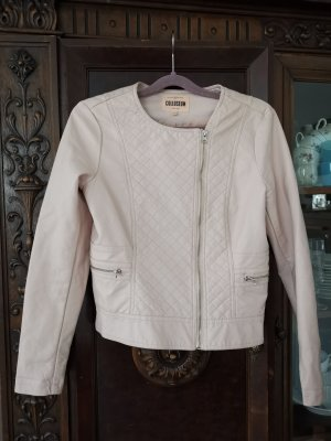 Colosseum Faux Leather Jacket light pink