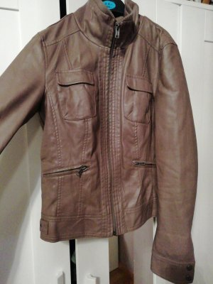 jacke in taupe