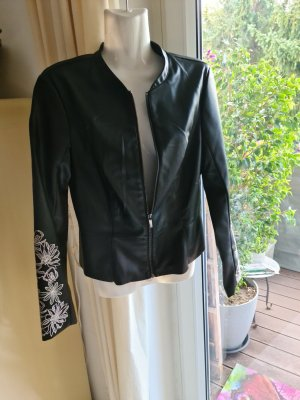 Orsay Faux Leather Jacket black