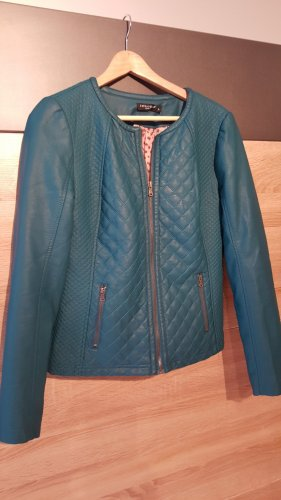 Boutique Ware Leather Jacket multicolored