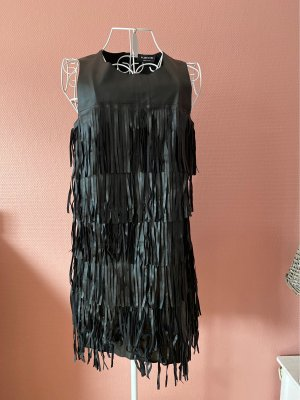 Glamorous Vestido con flecos negro