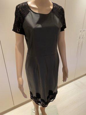 Jones Skórzana sukienka czarny