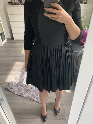 French Connection Vestito in pelle nero