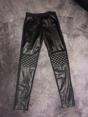 Calzedonia Pantalón de cuero negro
