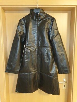 Madonna Manteau en simili noir
