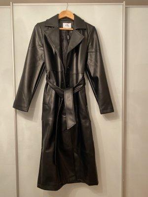 Nakd Leather Coat black