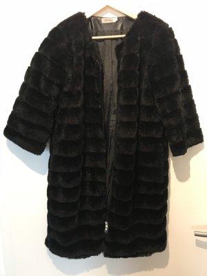 King Kong Manteau de fourrure noir