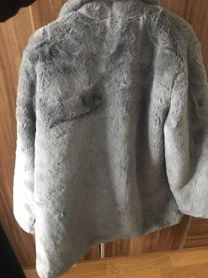 Kunstpelz Mantel