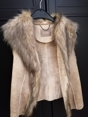 Orsay Fake Fur Vest multicolored