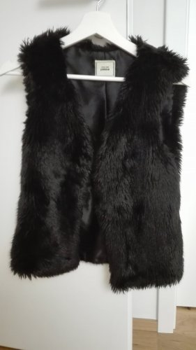 Pimkie Fake Fur Vest black