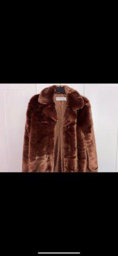 Ivy Revel Pelt Coat brown red