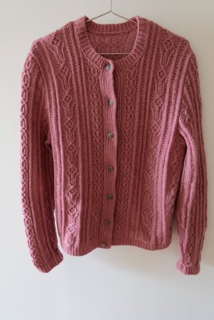 Traditional Jacket dusky pink wool
