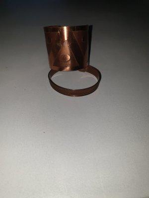 Bangle brons-roodbruin