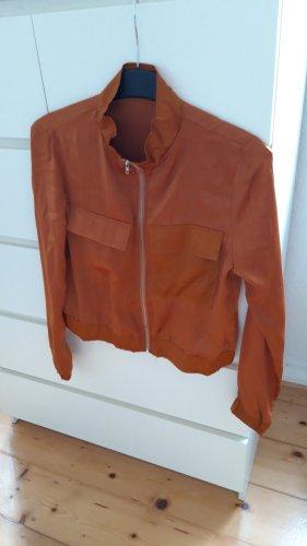Blusón coñac-naranja oscuro