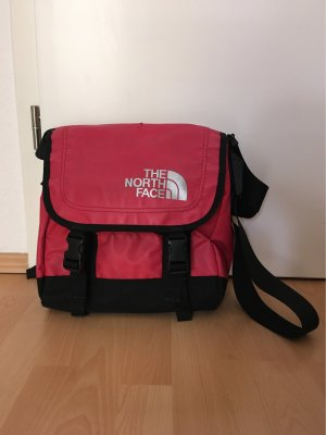The North Face Schoudertas met klep zwart-baksteenrood