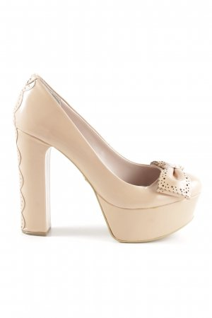 Kurt Geiger Plateau-Pumps nude Party-Look