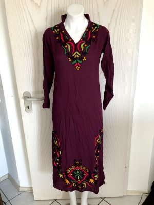 markenlos Tunic multicolored mixture fibre