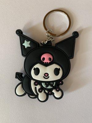 Hello kitty Llavero negro-blanco