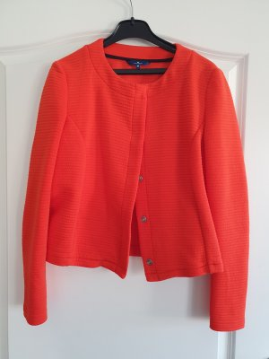 Tom Tailor Korte blazer donker oranje