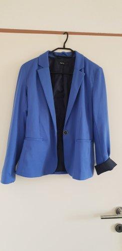 Kurz Blazer blau