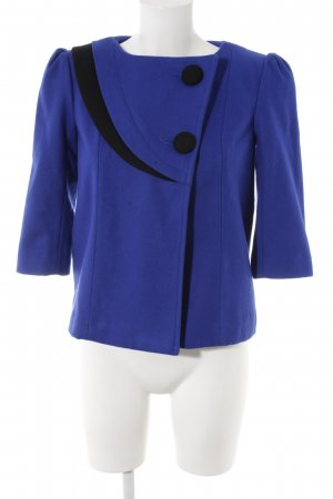 Kurz-Blazer blau-schwarz Business-Look