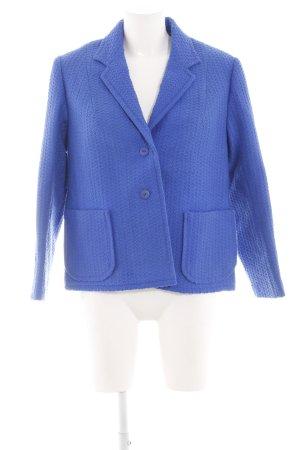Kurz-Blazer blau Casual-Look