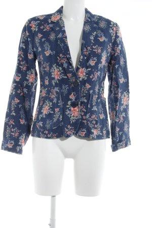 Kurz-Blazer florales Muster Romantik-Look