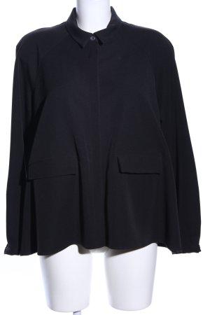Kurz-Blazer in schwarz von Elemente Clemente
