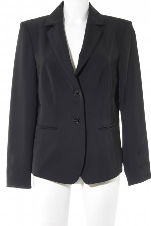 Kurz-Blazer schwarz Business-Look