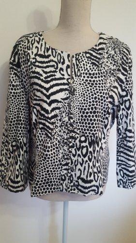 Blouse Jacket white-black