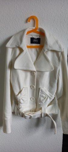 Melrose Kurtka przejściowa w kolorze białej wełny